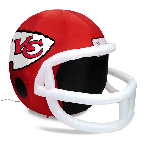 4' NFL Kansas City Chiefs Team Inflatable Football Helmet