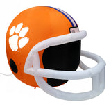 4' NCAA Clemson Tigers Team Inflatable Football Helmet