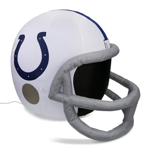 4' NFL Indianapolis Colts Team Inflatable Football Helmet