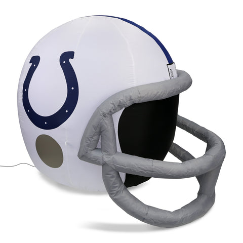 4' NFL Indianapolis Colts Team Inflatable Helmet