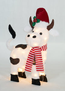 "22"" UL Plush Cow Sculpture"
