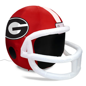 4' NCAA Georgia Bulldogs Team Inflatable Football Helmet