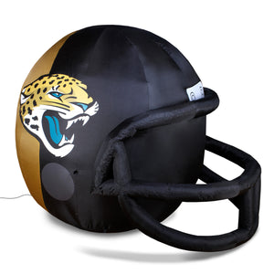 4' NFL Jacksonville Jaguars Team Inflatable Football Helmet