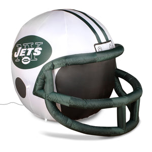 4' NFL New York Jets Team Inflatable Football Helmet
