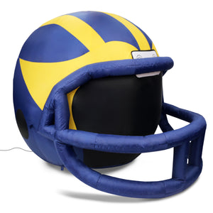 4' NCAA University of Michigan Inflatable Football Helmet