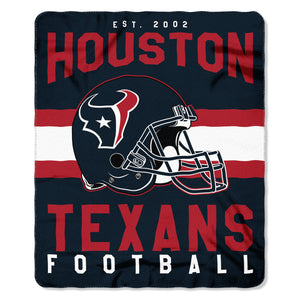 The Northwest Company Houston Texans Fleece Throw