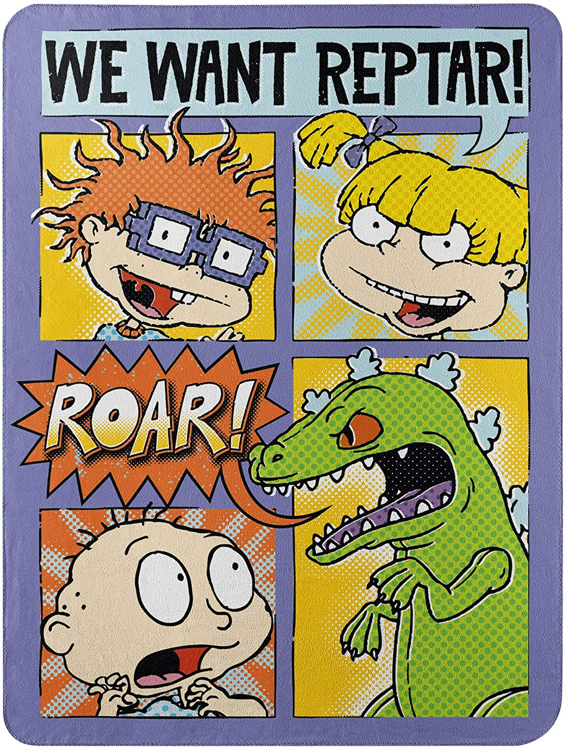 The Northwest Company NICK RETRO COMIC STRIP RUGRATS, Yellow