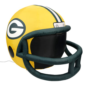 4' NFL Greenbay Packers Team Inflatable Football Helmet