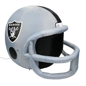4' NFL Las Vegas Raiders Team Inflatable Football Helmet