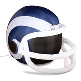 4' NFL LA Rams Team Inflatable Football Helmet