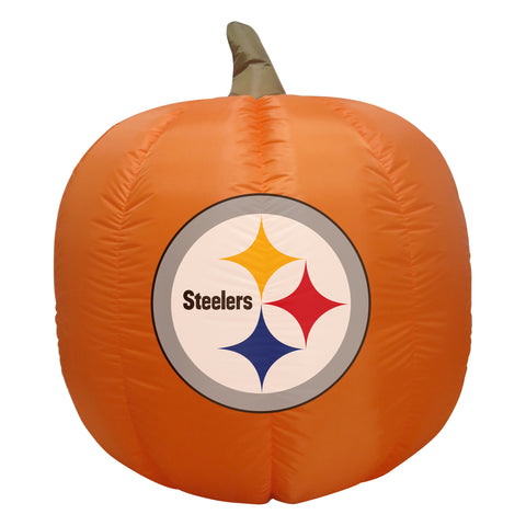 4' Pittsburgh Steelers Pumpkin Football Inflatable