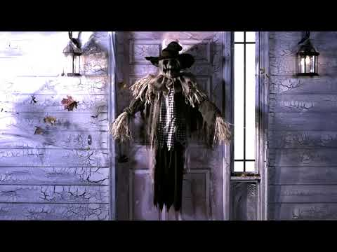 Hanging Surprise Scarecrow