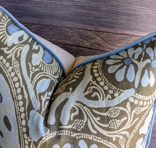 cochin by thibaut // paisley // floral // thibaut fabrics