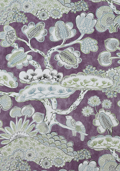 tree house by thibaut // floral & bird // chinoiserie
