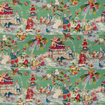brunschwig & fils xian // asian scenes // chinoiserie pillows