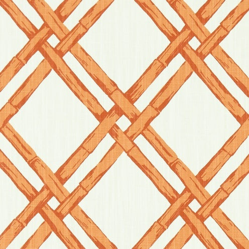 quick ship // paro cane print // geometric // chinoiserie