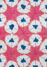 Load image into Gallery viewer, thibaut // sunburst // pink and orange // chintz like // bright decor