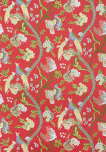 Load image into Gallery viewer, janta bazaar in flax // thibaut fabric // designer fabrics