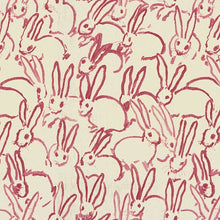 Load image into Gallery viewer, hutch print by lee jofa for groundworks // bunny pillow // kravet fabric