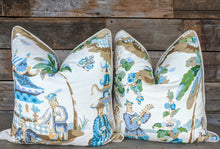 Load image into Gallery viewer, brunschwig & fils xian // asian scenes // chinoiserie pillows