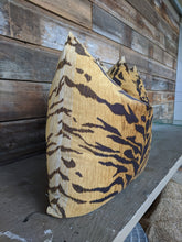 Load image into Gallery viewer, tiger print pillow // velvet pillow // le tigre look for less // tiger decor