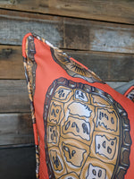 cotton and quill tortoise shell // animal print // bright decor // turtle shell