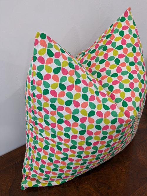Teardrop Floral Print pillow cover // flash sale