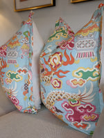 ready to ship // brunschwig & fils ming dragon // chinoiserie