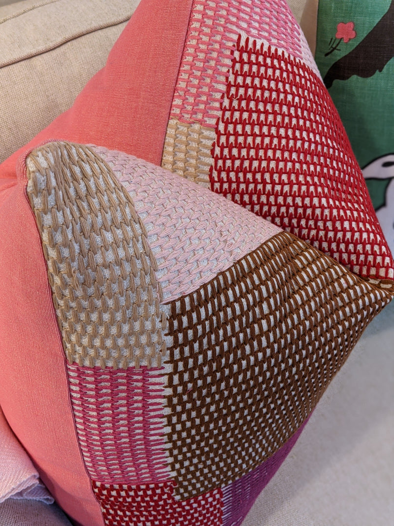 carnaby by schumacher // patchwork // textured