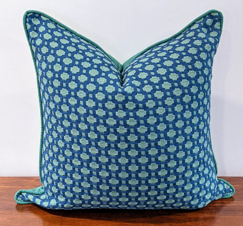 ready to ship // schumacher betwixt blue & green