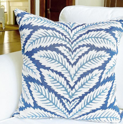 talavera by brunschwig & fils // floral // blue and white