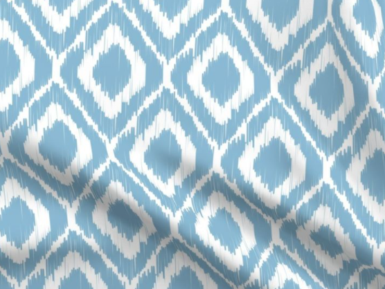 custom ikat // ashley summers design // outdoor option