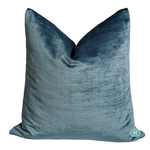 textured velvet pillow cover // strie