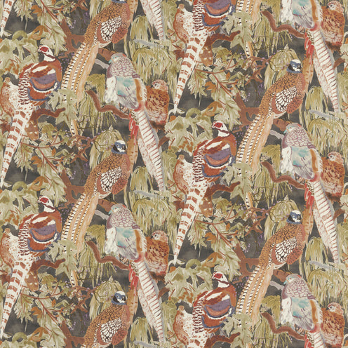 Game Birds by Lee Jofa - Front only with self flange