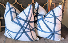 Load image into Gallery viewer, kelly wearstler channels // kravet // geometric pillows // designer fabric