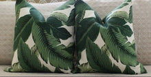 Load image into Gallery viewer, INDOOR VERSION - Banana leaf Palm // tommy bahama // palm print // beverly hills hotel