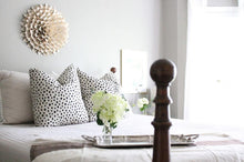Load image into Gallery viewer, Kate Spade Dalmatian print pillow cover // Lacefield Dalmatian // spotted pillow cover
