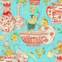 Load image into Gallery viewer, dena home chinoiserie design // monkey decor // ginger jar decor // chinoiserie pillows
