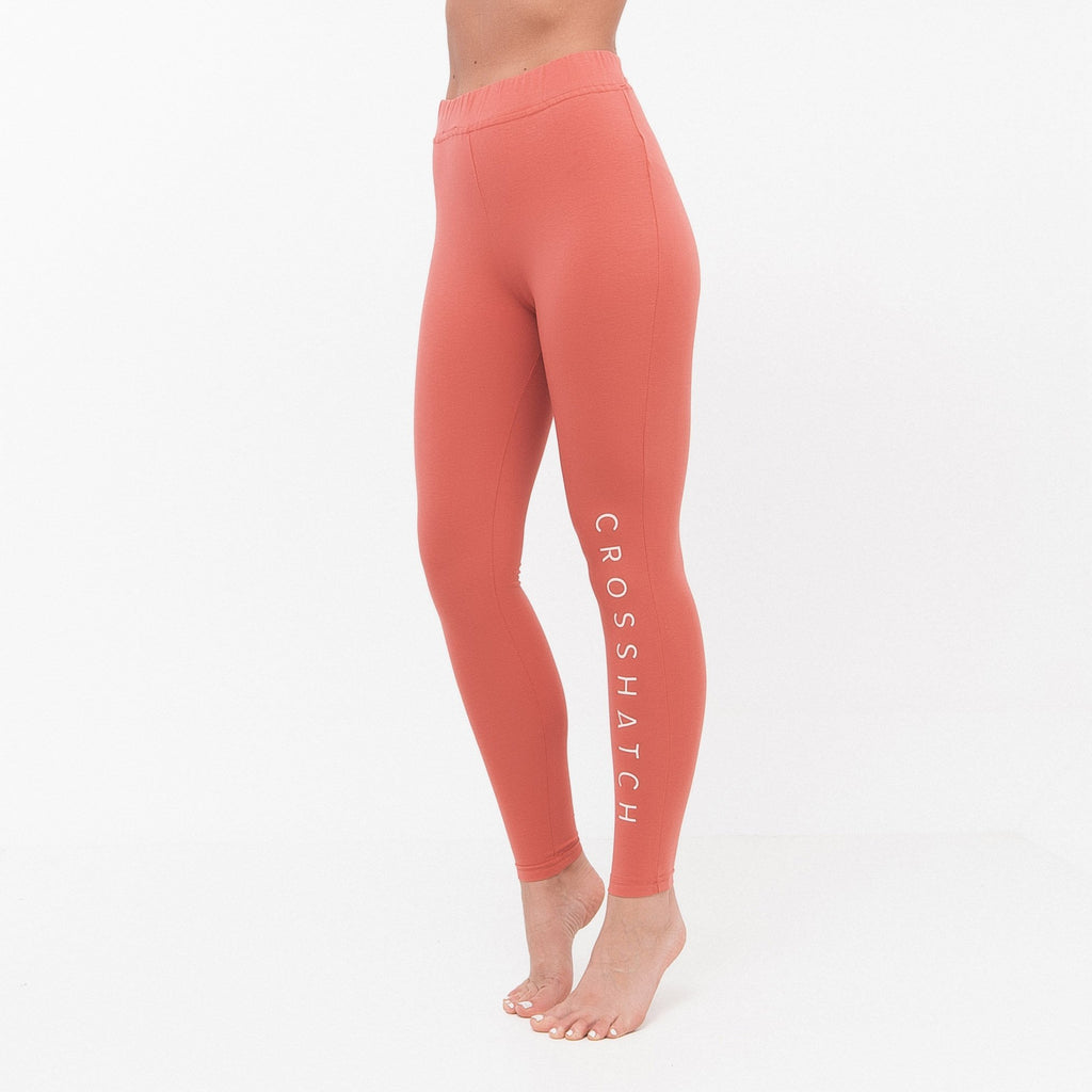 Ladies Adeline Leggings Xs / Faded Rose