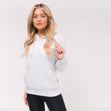Ladies Alexis Hoodie Xs / Light Grey Marl Hoodies