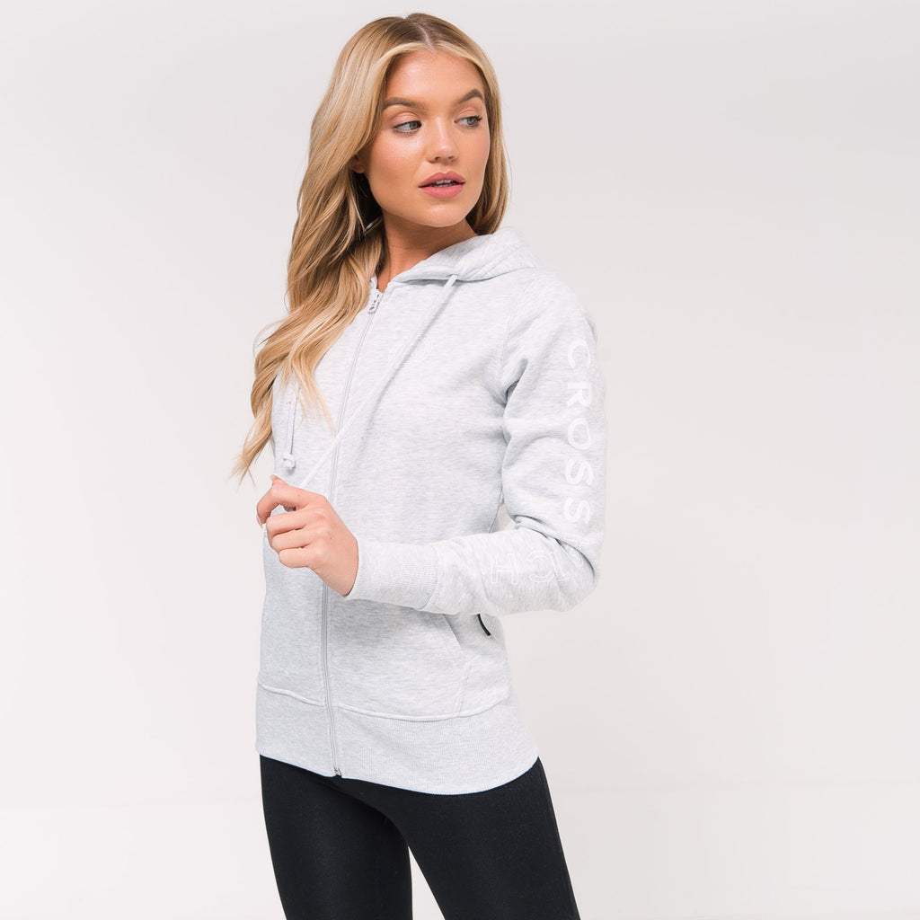 Ladies Andrea Hoodie Xs / Light Grey Marl Hoodies