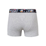 Zurcher Boxers 3pk Black/Grey Marl