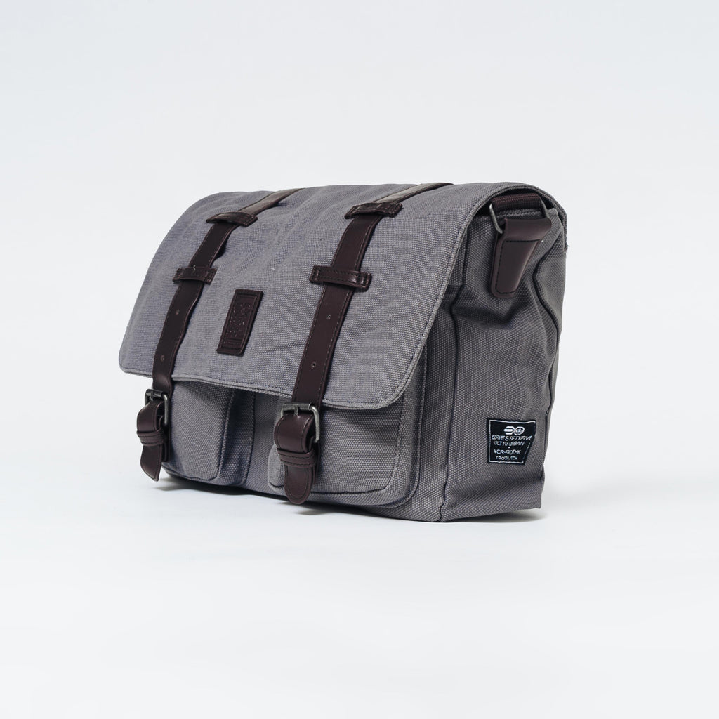 Cajon Canvas Messenger Bag