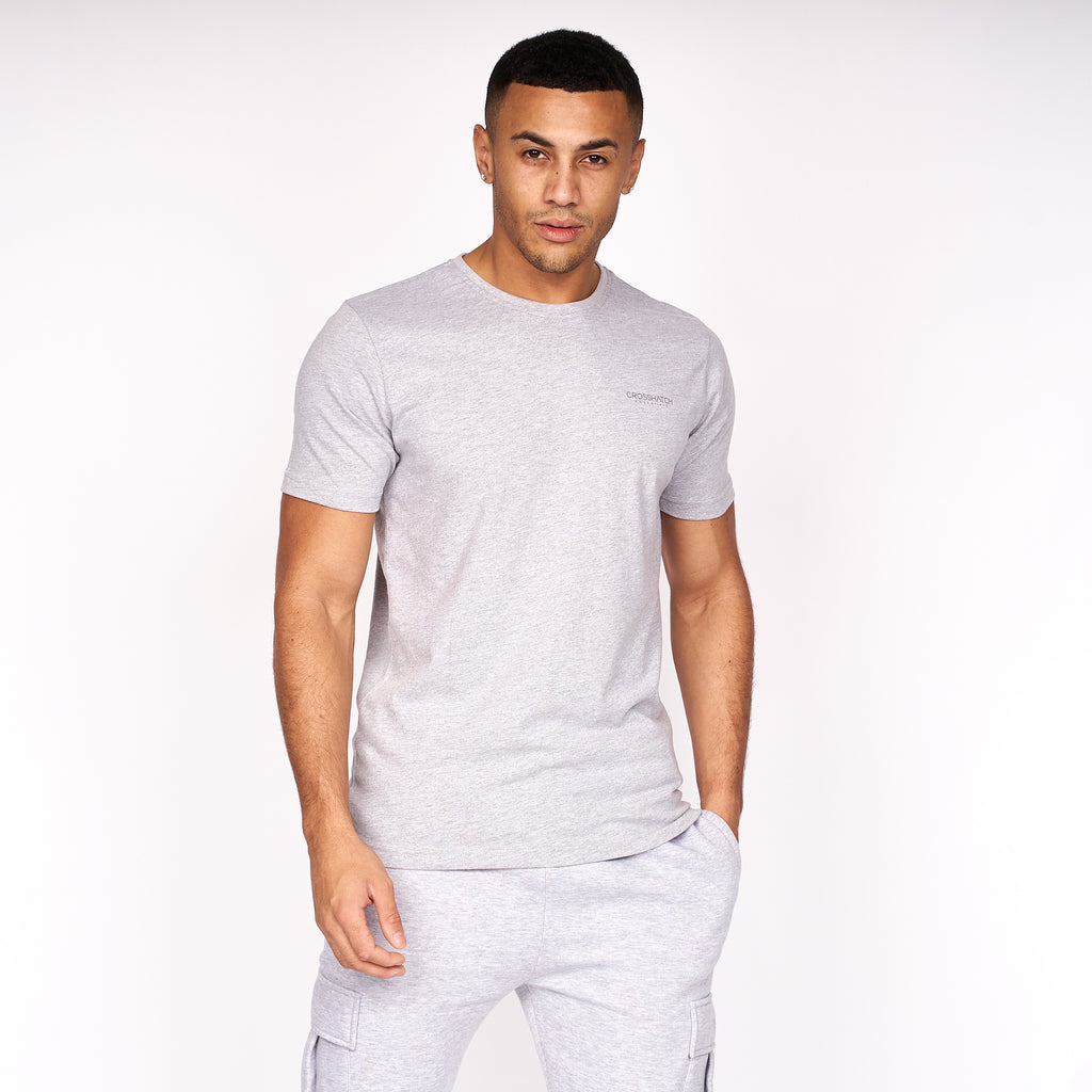 Basetee T-Shirt Grey Marl