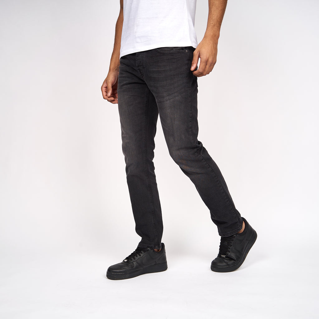 Buraca Slim Fit Jeans Charcoal Wash