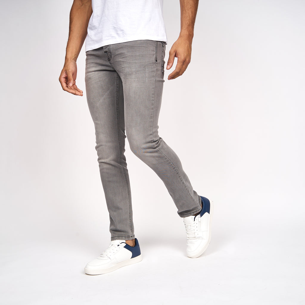 Buraca Slim Fit Jeans Grey Wash
