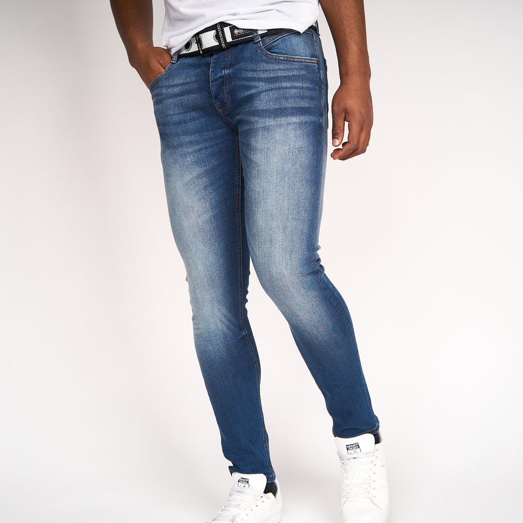 Barbeck Slim Fit Jeans Tinted Blue
