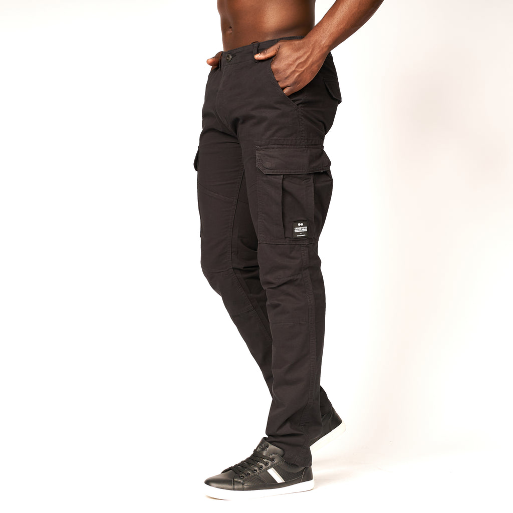 Montague Combat Pants Black