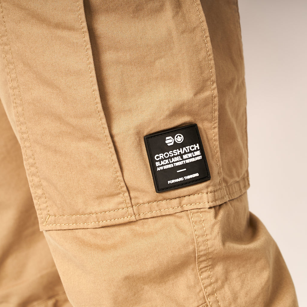 Montague Combat Pants Tan