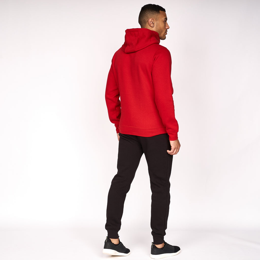 Snoodneck Hoodie Haute Red